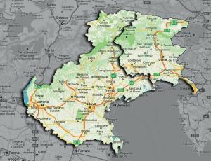 Cartina Del Veneto E Friuli.Celerita Trivengas